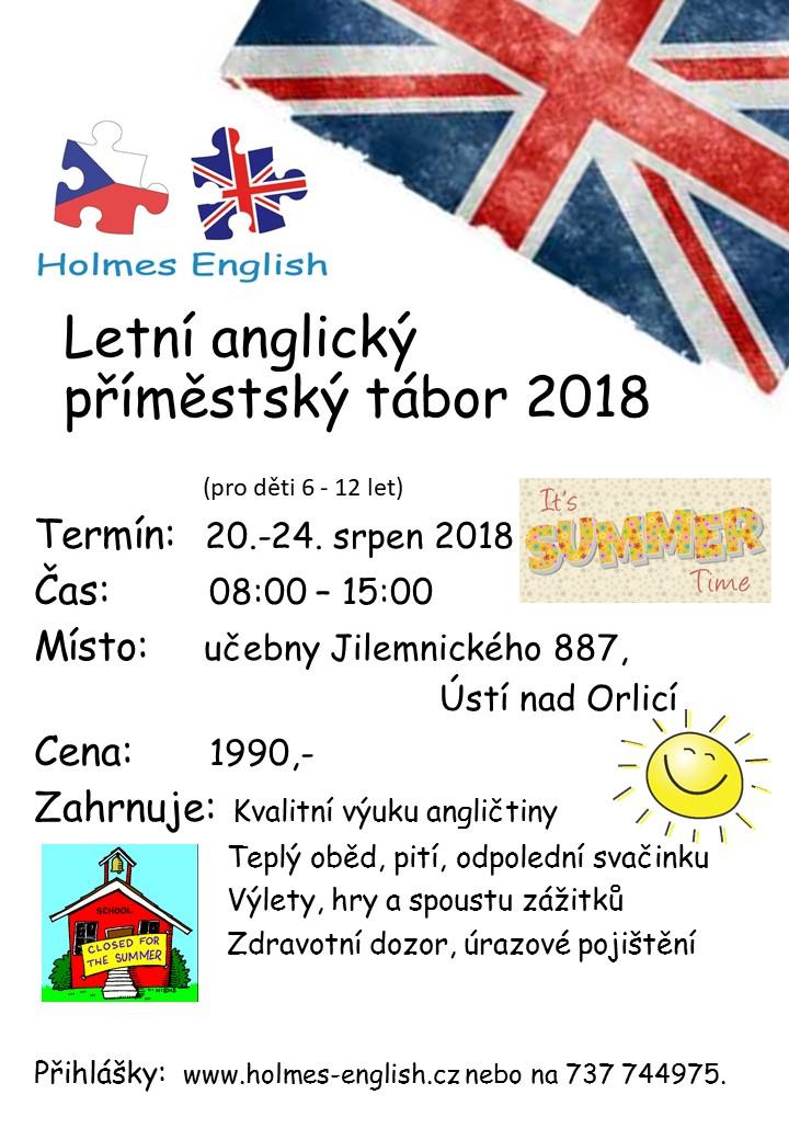 Letni Anglicka Druzina 2018