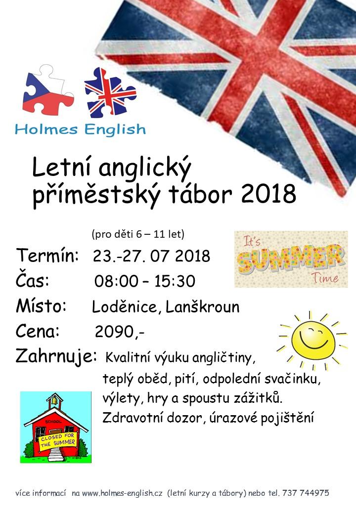 Letni Anglicka Druzina LA 2018