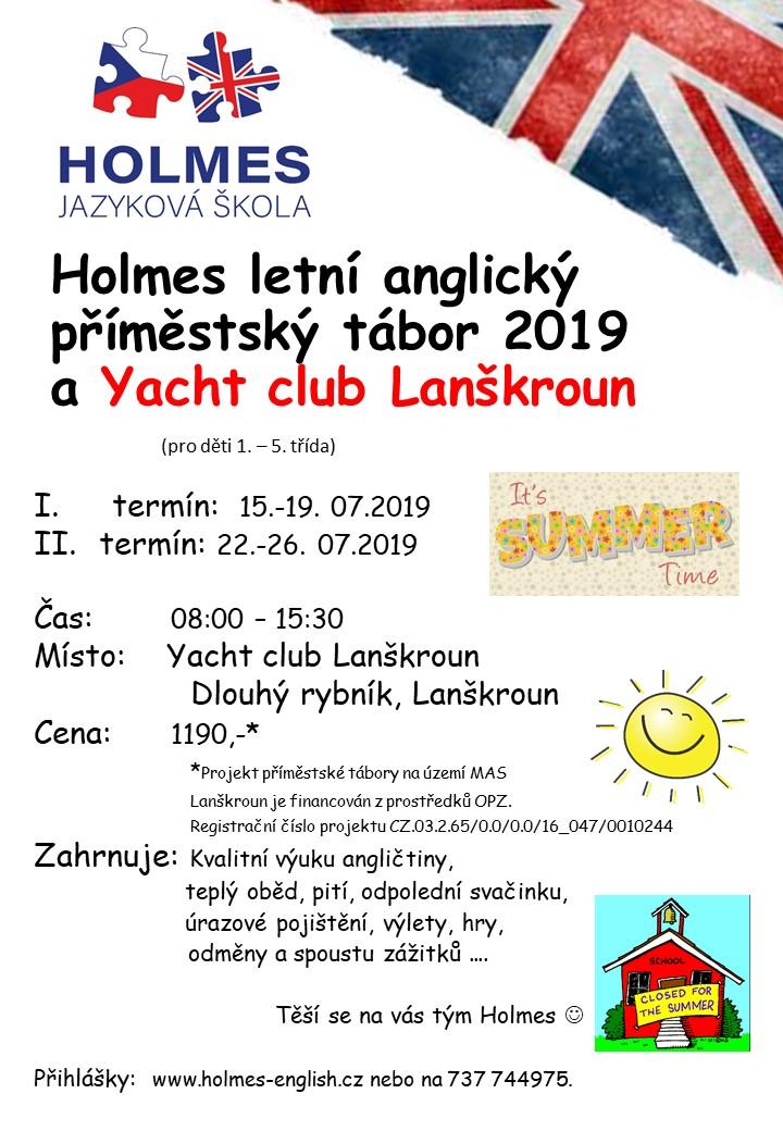 Letni Anglicka Druzina LA 2019 lodenice